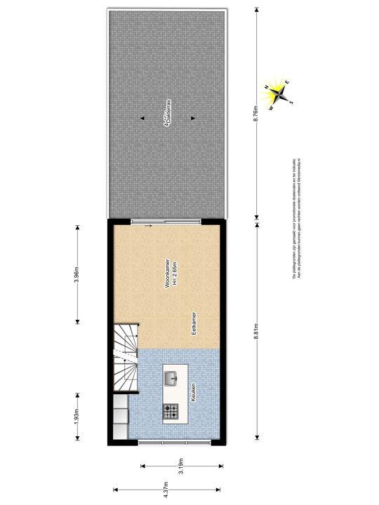 Glenn Millerstraat 94, Delft plattegrond-1