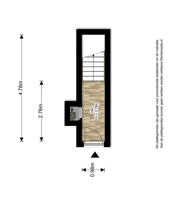 Van der Heimstraat 41, Delft plattegrond-0