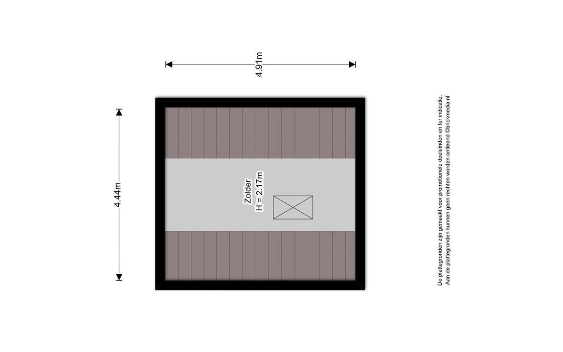 Hof van Delftlaan 110, Delft plattegrond-4