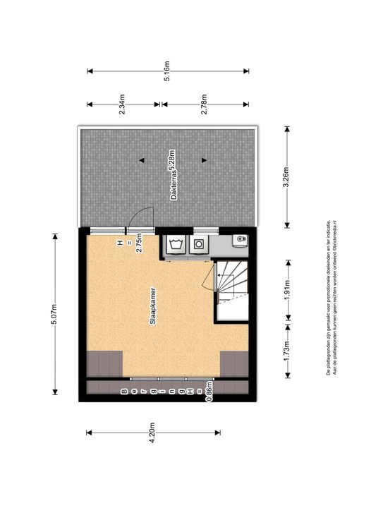 Pauwmolen 34, Delfgauw plattegrond-3