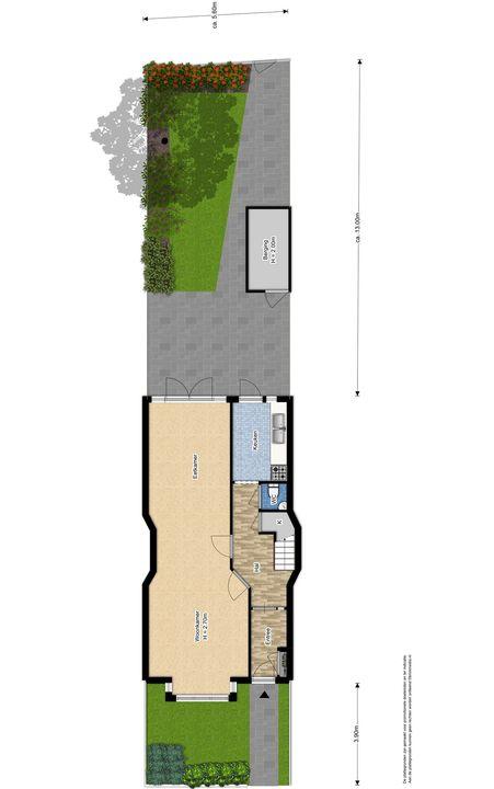 Hof van Delftlaan 110, Delft plattegrond-0