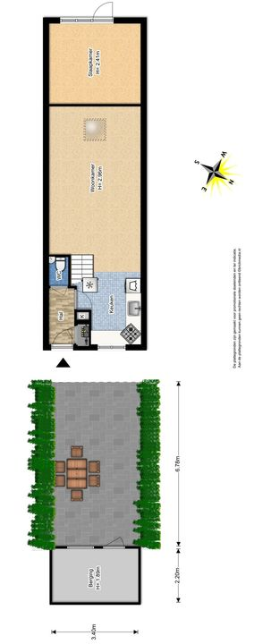 Westerstraat 32, Delft plattegrond-0