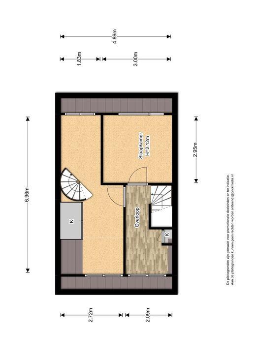 Boomkleverstraat 26, Delft plattegrond-3