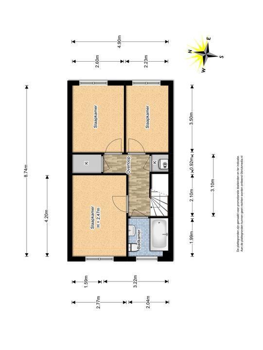 Derde Werelddreef 259, Delft plattegrond-2