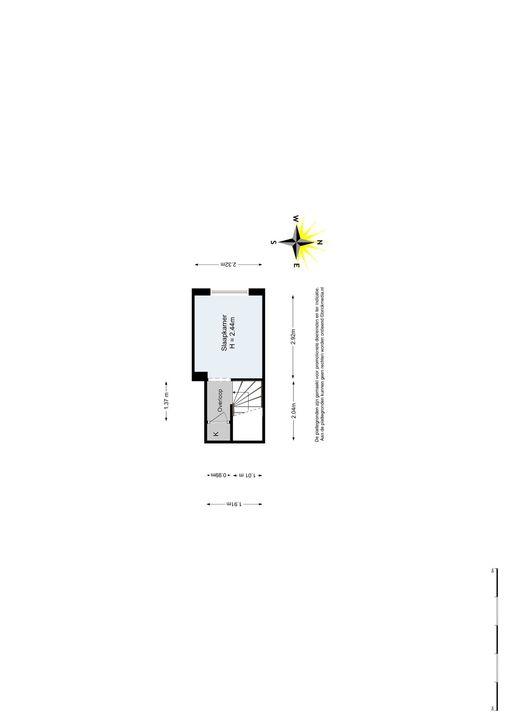 Caspar Fagelstraat 7 a, Delft plattegrond-2