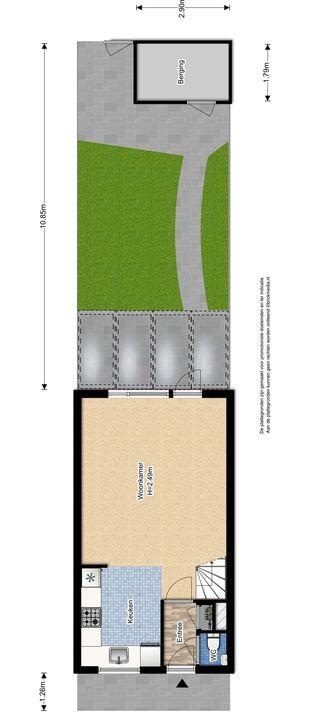 Gandhilaan 40, Delft plattegrond-2