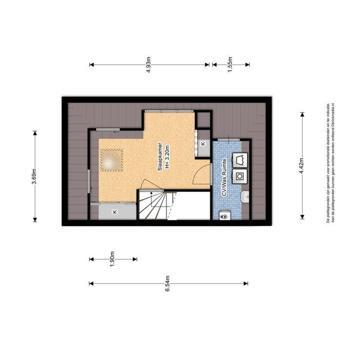 Molensingel 47, Delft plattegrond-2