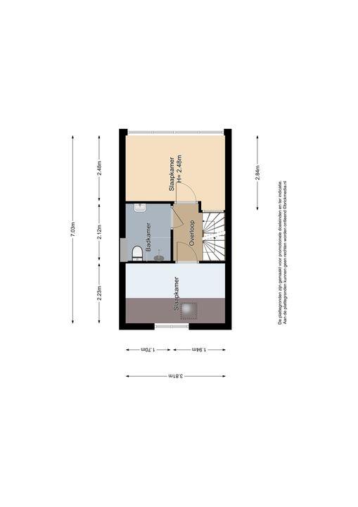 Koepoortstraat 13, Delft plattegrond-1