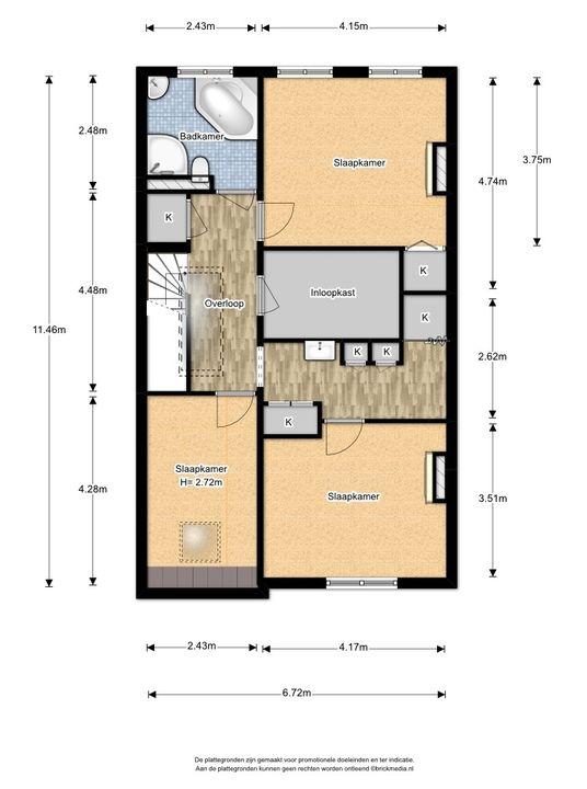 Heemskerkstraat 19, Delft plattegrond-3