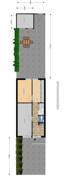 Zuidpoldersingel 63, Delfgauw plattegrond-0