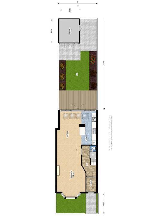Julianalaan 99 ., Delft plattegrond-0