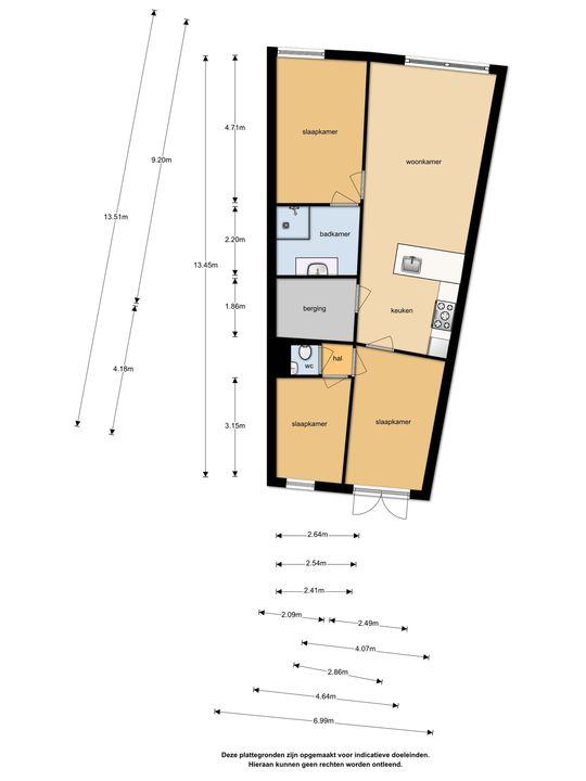Gouden Rijderplein 81, Delfgauw plattegrond-1