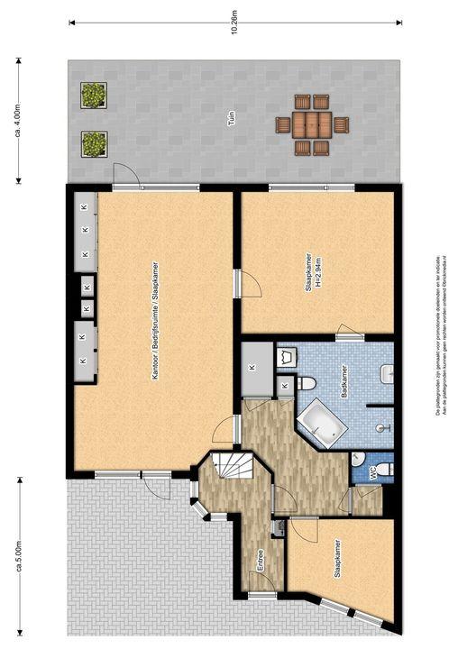 Lagosweg 29 31, Delft plattegrond-0