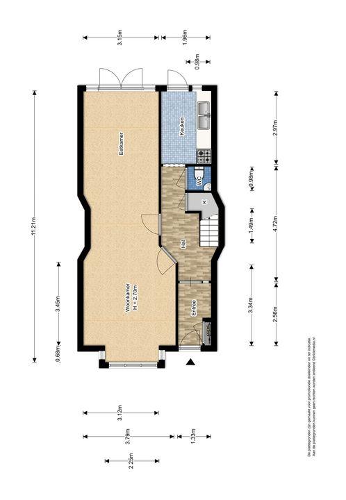 Hof van Delftlaan 110, Delft plattegrond-1