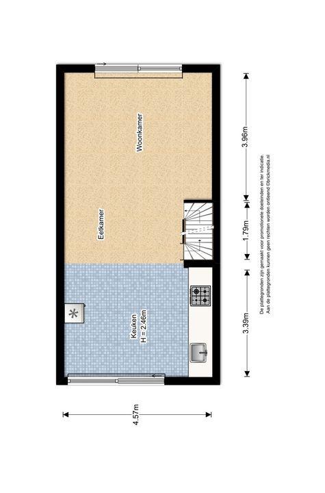 Zuidpoldersingel 63, Delfgauw plattegrond-2