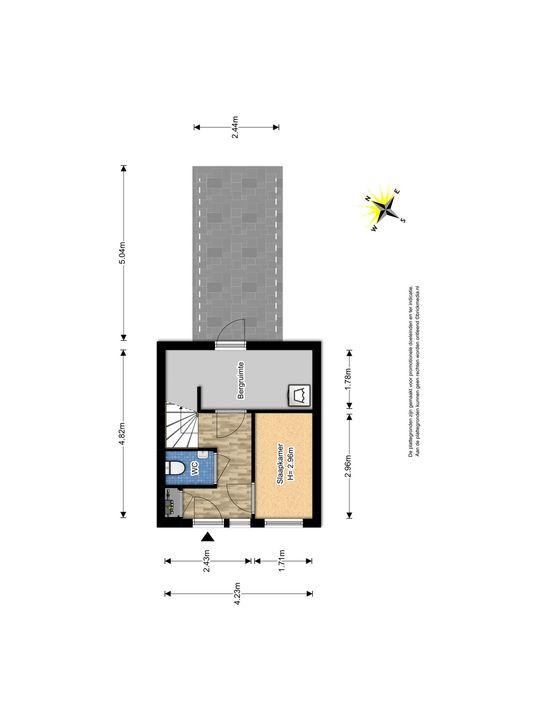 Glenn Millerstraat 94, Delft plattegrond-0