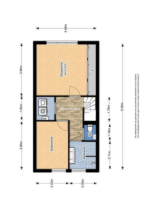 Zuidpoldersingel 63, Delfgauw plattegrond-3