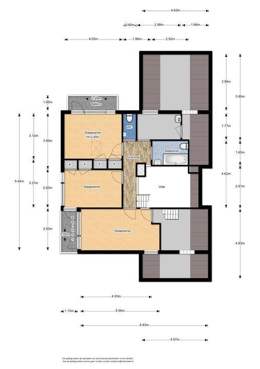 Gerbrandylaan 23, Delft plattegrond-2