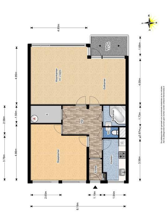 Papsouwselaan 235, Delft plattegrond-0