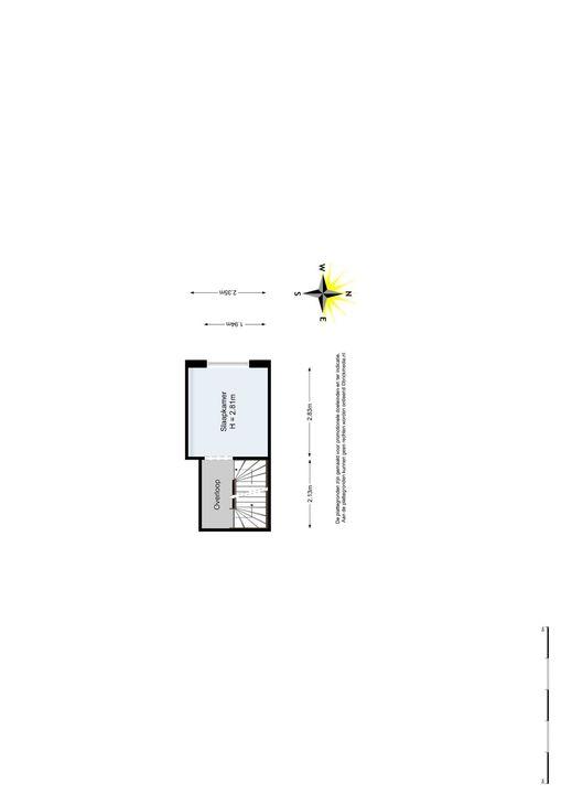 Caspar Fagelstraat 7 a, Delft plattegrond-1