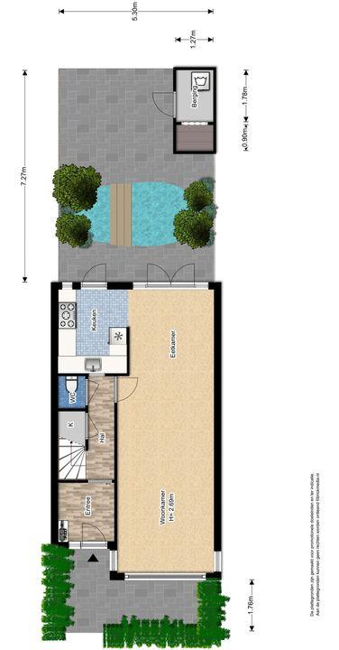 Van Heemstrastraat 19, Delft plattegrond-3