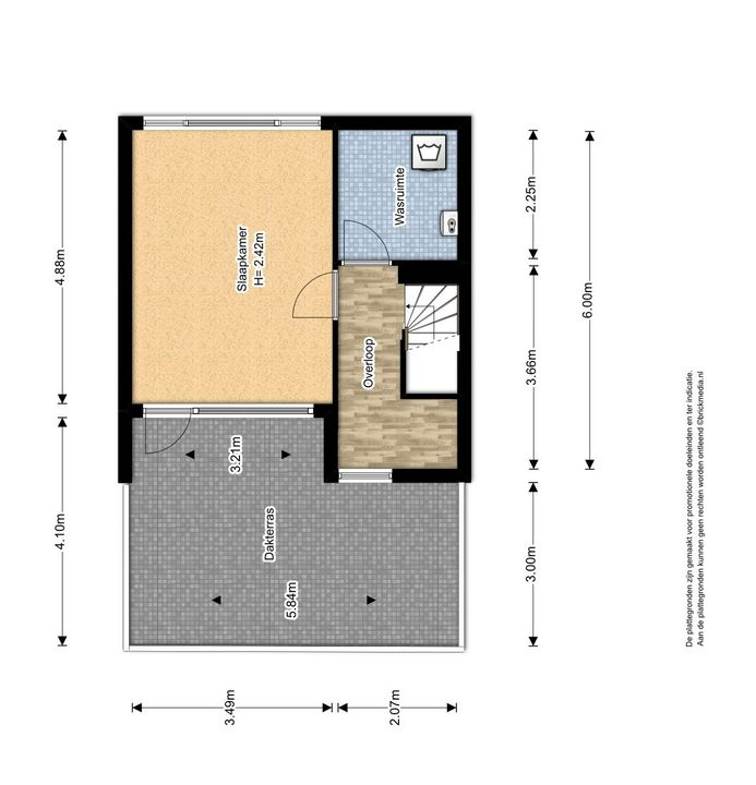 Letterzetterhof 21, Delfgauw plattegrond-2