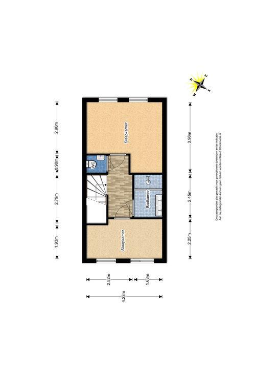 Glenn Millerstraat 94, Delft plattegrond-2