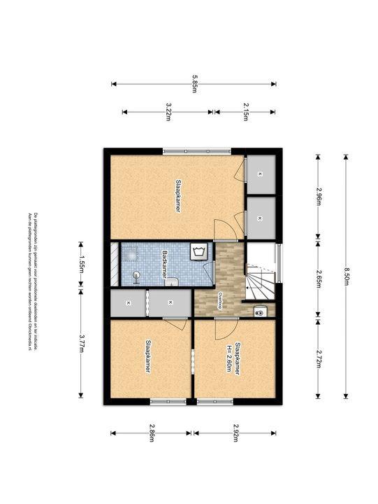 Raamstraat 80, Delft plattegrond-3