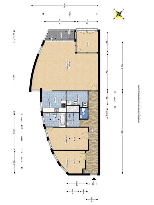 Parkzoom 7, Delft plattegrond-0