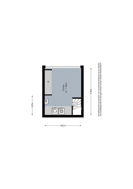 Koepoortstraat 13, Delft plattegrond-2