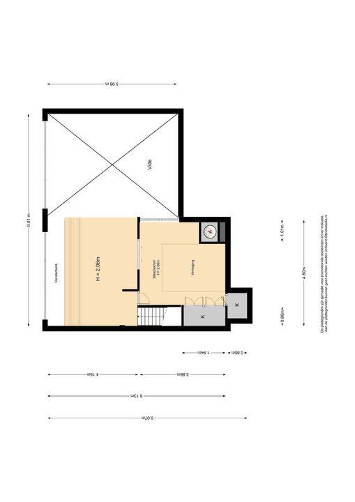 Nieuwelaan 140, Delft plattegrond-1