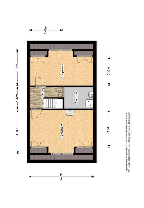 Hof van Delftlaan 110, Delft plattegrond-3