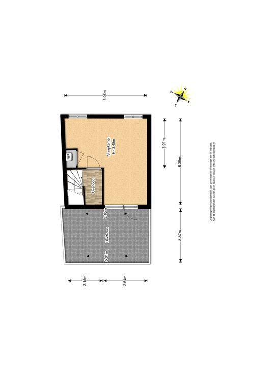 Waterloop 16, Delft plattegrond-3
