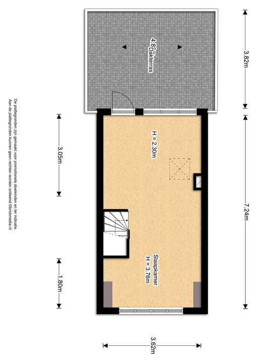 Anna Beijerstraat 14, Delft plattegrond-1