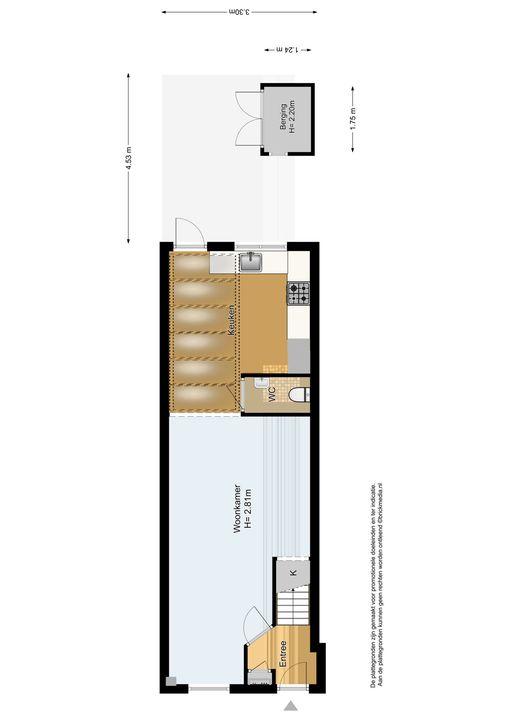 Koepoortstraat 13, Delft plattegrond-3