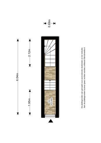Warmoezierstraat 42, Delft plattegrond-0