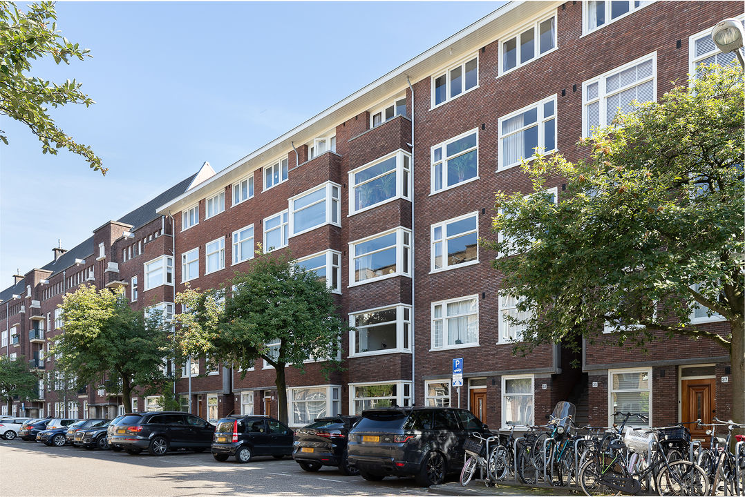 Courbetstraat 33 -I, Bovenwoning in Amsterdam foto-0
