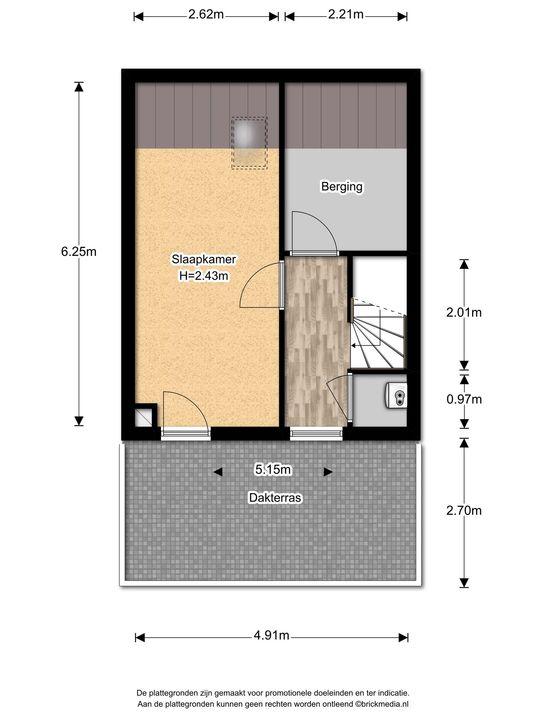 Prins Bernhardlaan 331, Voorburg floorplan-2