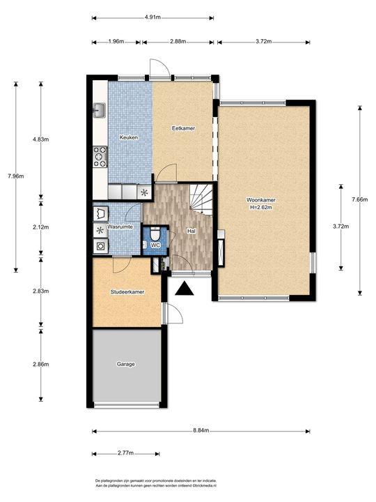 Prins Bernhardlaan 331, Voorburg floorplan-0
