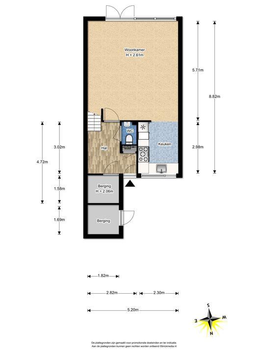 de Oude Bleijk 221, Leidschendam floorplan-0