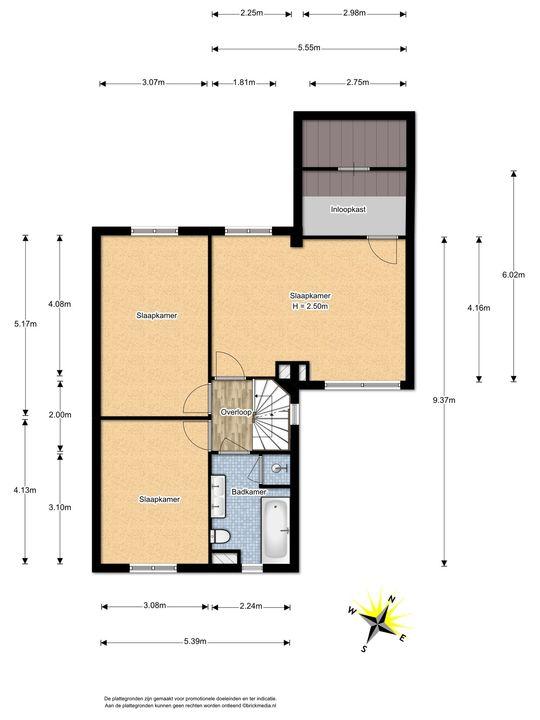 Penningkruid 1, Nootdorp floorplan-1