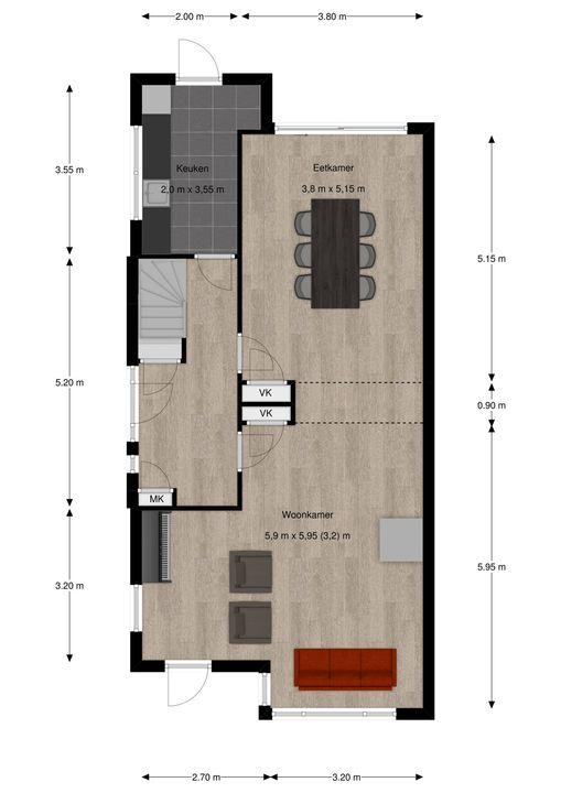 Park Vronesteyn 18, Voorburg floorplan-0