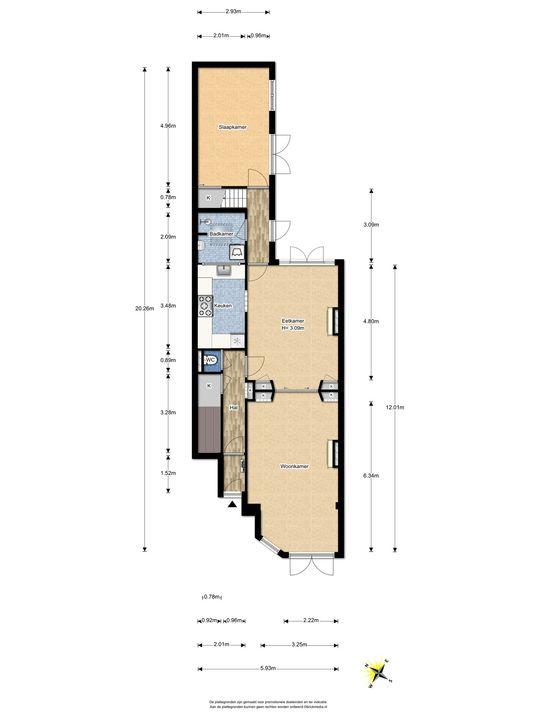 Leeuwendaallaan 73, Rijswijk floorplan-0