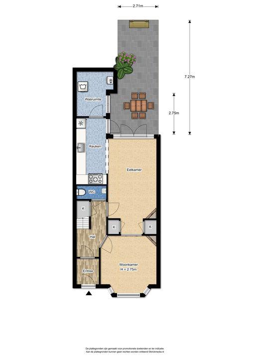Agrippinastraat 40, Voorburg floorplan-4