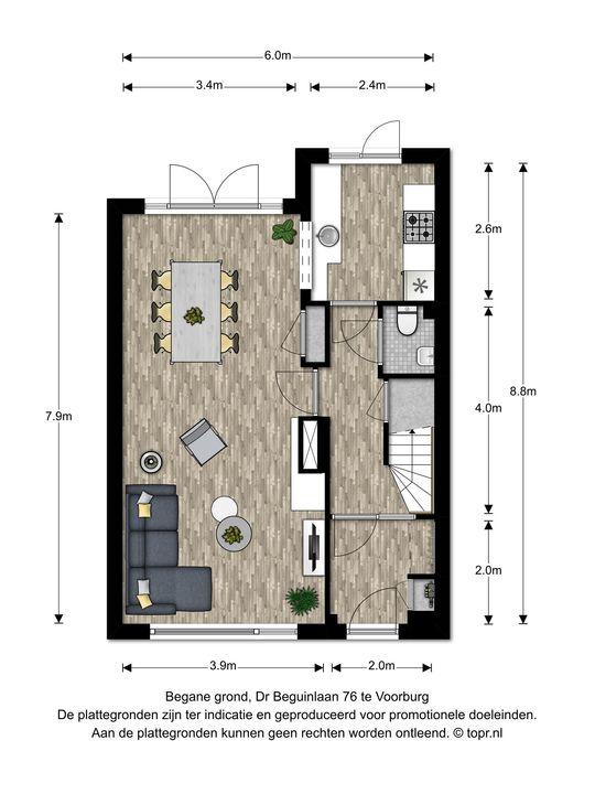 Dr Beguinlaan 76, Voorburg floorplan-0