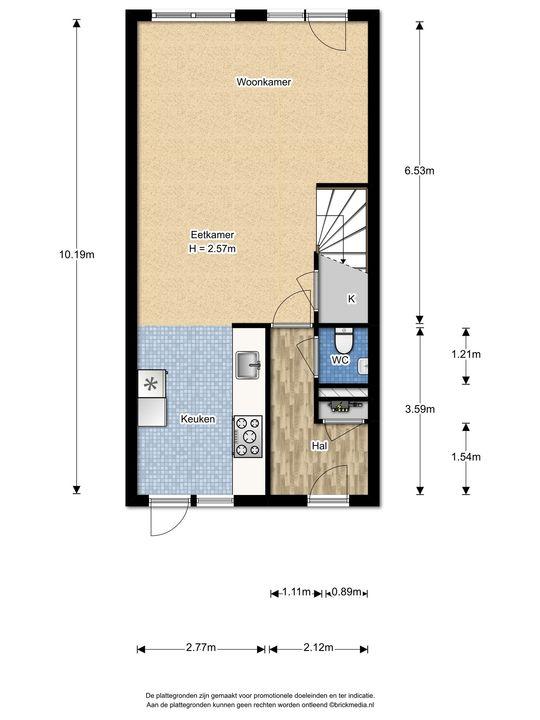 Zonnehof 14, Nootdorp floorplan-0