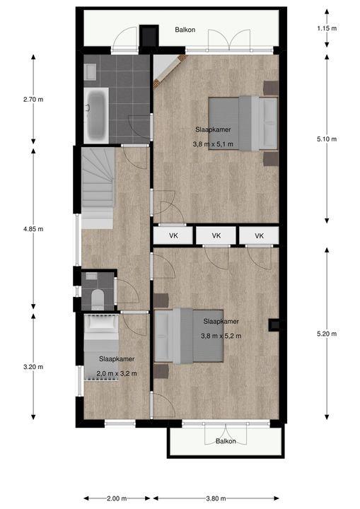Park Vronesteyn 18, Voorburg floorplan-1