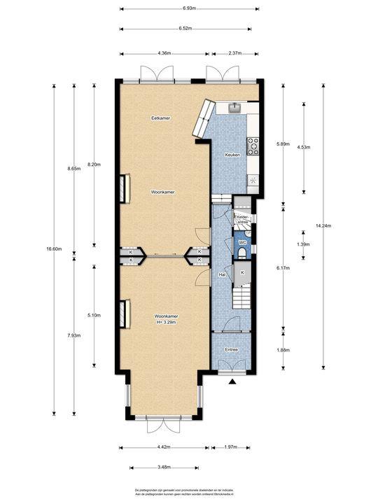 Oosteinde 113, Voorburg floorplan-0