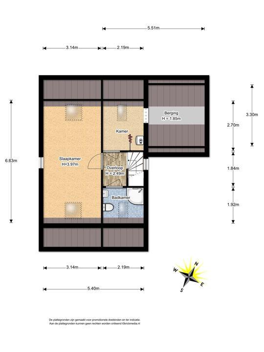 Penningkruid 1, Nootdorp floorplan-2