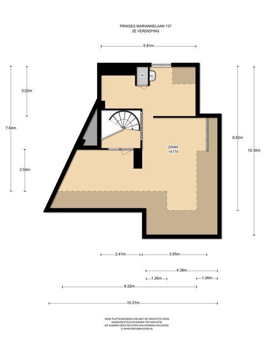 Prinses Mariannelaan 137, Voorburg floorplan-2